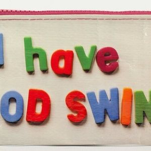 NWT I Have Mood Swings Pencil Case by Blue Q